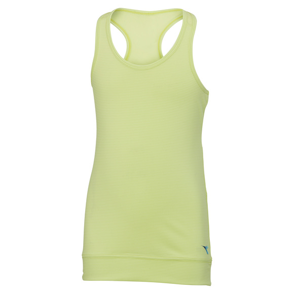 Banded Bottom - Girls' Tank Top
