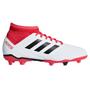Predator 18.3 FG Jr - Chaussures de soccer extérieur pour junior