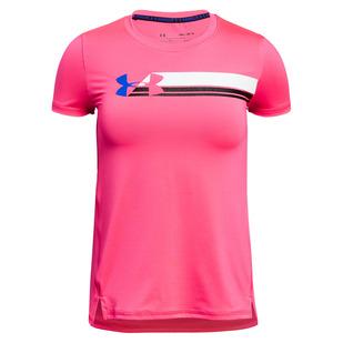 Armour - T-shirt d'entraînement pour fille