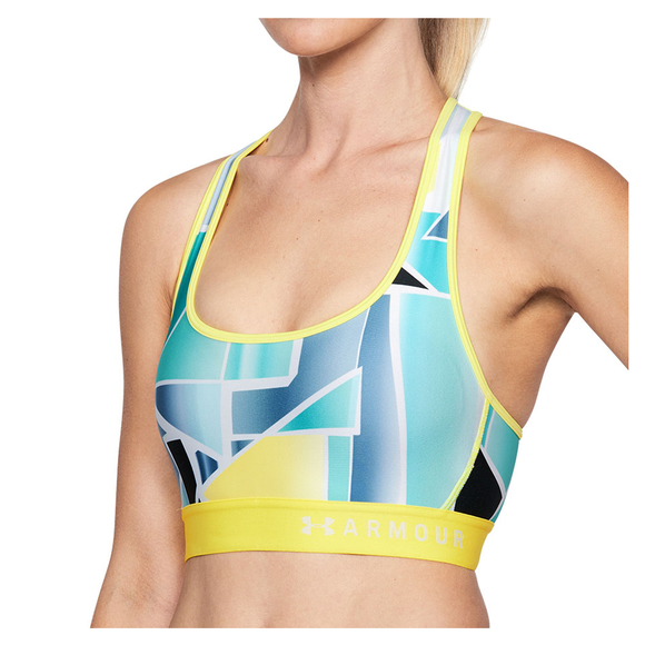 under armour armour mid crossback soutien gorge sport pour femme sports experts. Black Bedroom Furniture Sets. Home Design Ideas