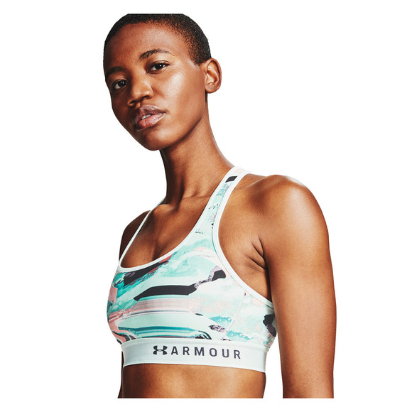 Armour Mid Crossback - Women's Sports Bra