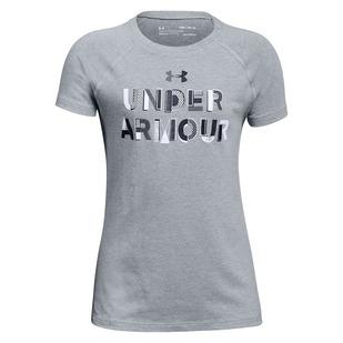Asymmetric Branded Jr - T-shirt d'entraînement pour junior