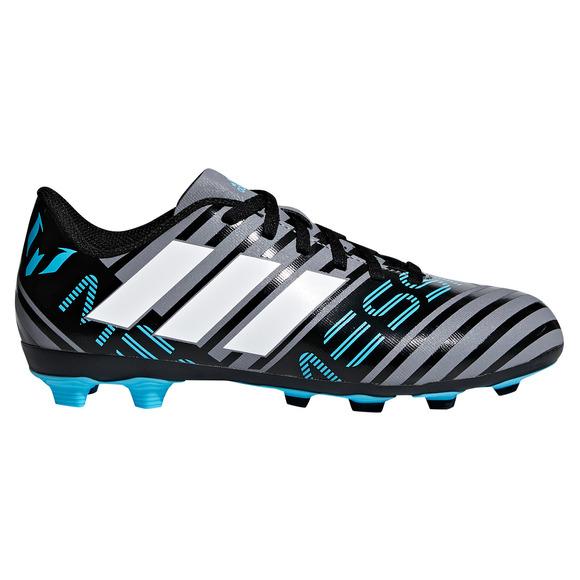 Nemeziz Messi 17.4 FxG Jr - Chaussures de soccer extérieur pour junior