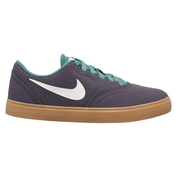 Check Canvas (GS) Jr - Chaussures de planche pour junior