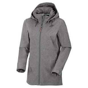 Tumut - Manteau softshell à capuchon pour femme
