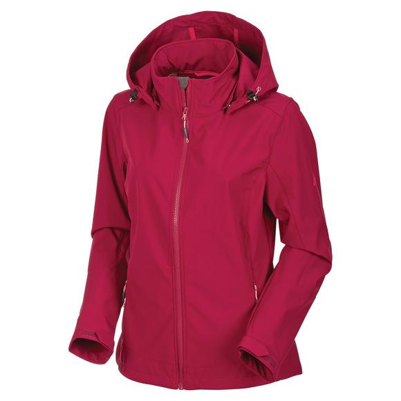 Trundle - Women's Hooded Softshell Jacket