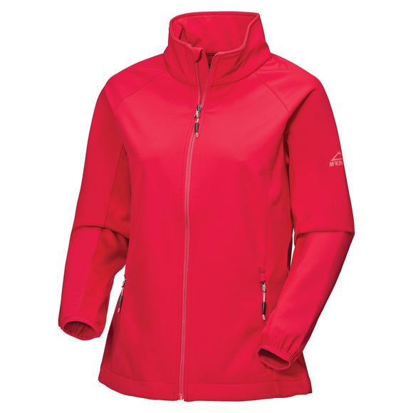 Lusaka - Manteau softshell pour femme
