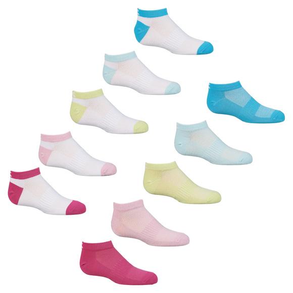 DG9775S18P - Socquettes pour fille (paquet de 10 paires)