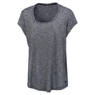 Essential Novelty (Taille Plus) - T-shirt à mancherons pour femme
