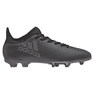 X 17.3 FG Jr - Chaussures de soccer extérieur pour junior