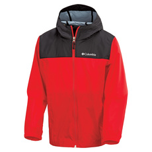 No Rain No Gain Jr - Boys' Hooded Rain Jacket