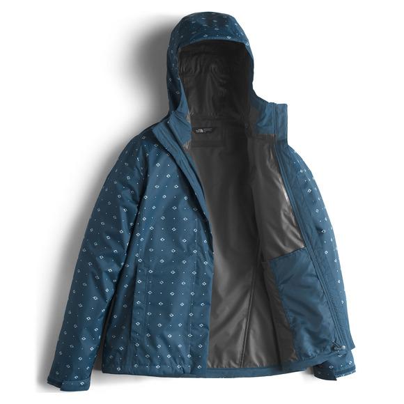 the north face print venture manteau de pluie pour femme. Black Bedroom Furniture Sets. Home Design Ideas