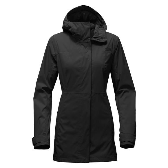 7c050c4b0c THE NORTH FACE City Midi Trench - Women s Hooded Rain Jacket ...