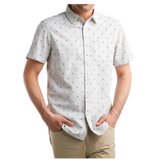 Bay Trail Jacquard - Men's Short-Sleeved Shirt