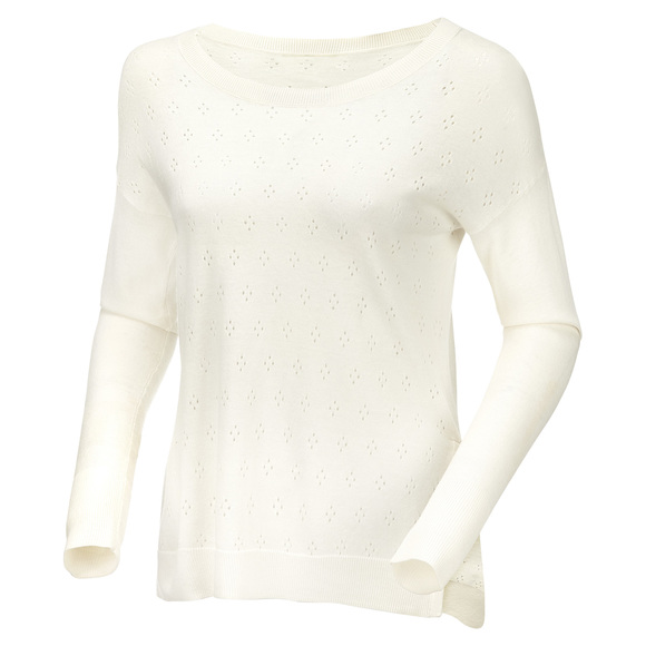 Cambria Pointelle - Women's Sweater