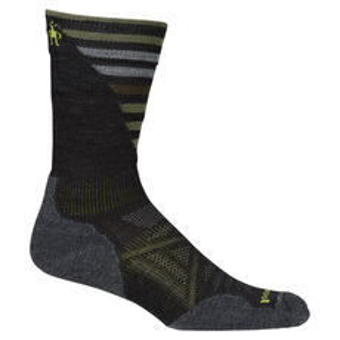 PhD Outdoor Light Pattern Crew - Men's Cushioned Socks