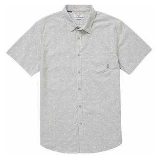 Sundays Jacquard - Men's Short-Sleeved Shirt