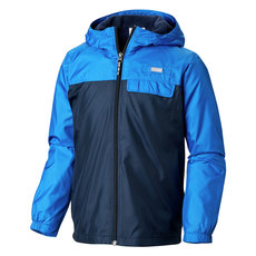 Mountain Side - Junior Hooded Rain Jacket