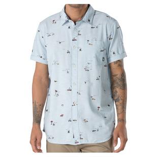 Tres Palma - Chemise à manches courtes pour homme