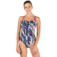 Geo Storm Relay - Women's One-Piece Training Swimsuit