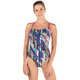 Geo Storm Relay - Women's One-Piece Training Swimsuit    - 0