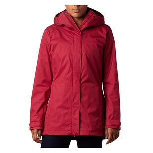 Splash A Little II (Plus Size) - Women's Rain Jacket