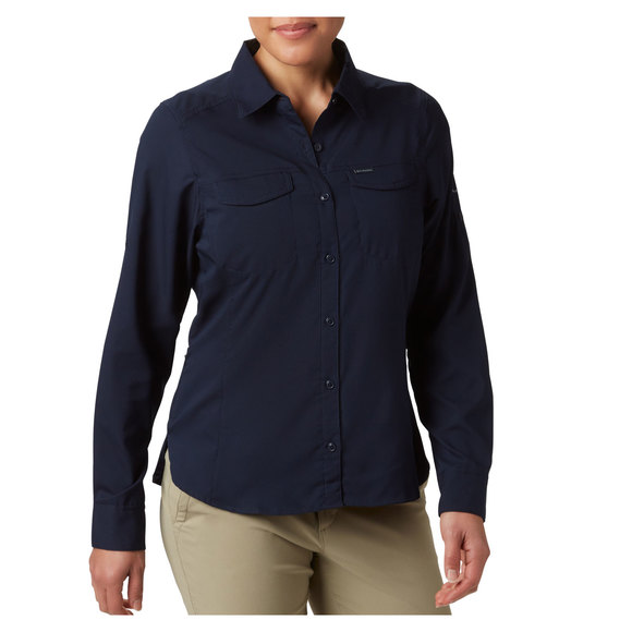Silver Ridge Lite (Plus Size) - Women's Long-Sleeved Shirt