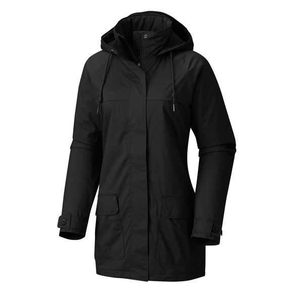 Lookout Crest - Women's Hooded Rain Jacket