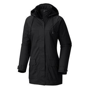 Lookout Crest - Manteau de plue à capuchon pour femme