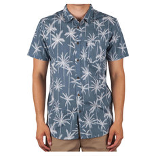 Palm Trip - Men's Short-Sleeved Shirt