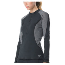 Precision Pleat - Women's Half-Zip Rashguard