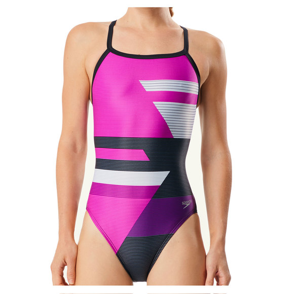 Racing Rebel Drill - Women's One-Piece Training Swimsuit