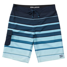 All Day X Stripe - Boys' Board Shorts