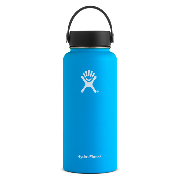 Hydration W32TS - Wide Mouth 18/8 Pro-Grade Stainless Steel Bottle (946 ml)