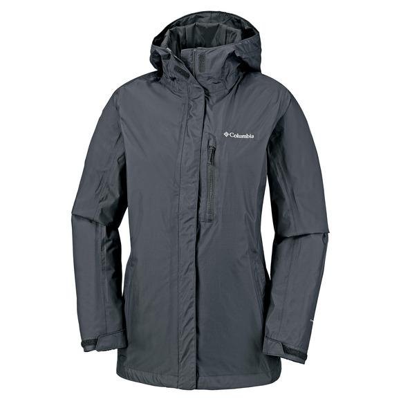 Pouring Adventure II - Manteau de pluie à capuchon pour femme
