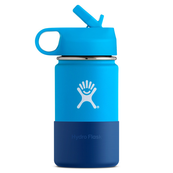 W12SW - Kids' 18/8 Pro-Grade Stainless Steel Bottle With Straw