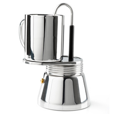 65105 - Stainless Steel Mini Stovetop Espresso Maker (4 cups)