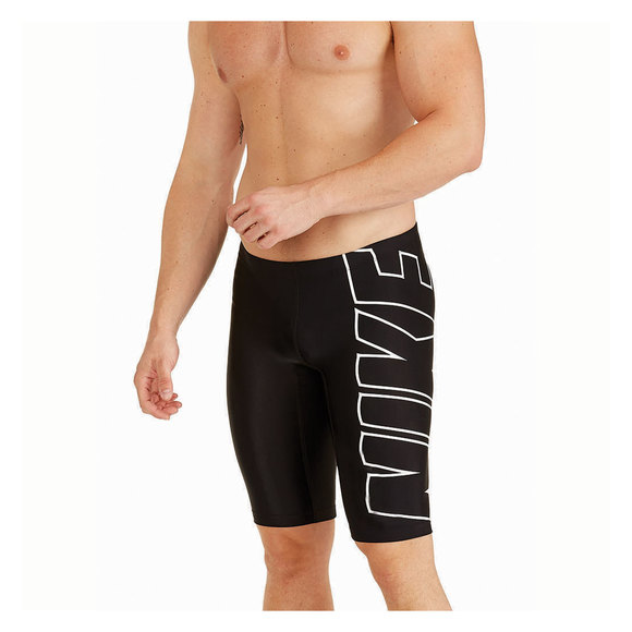 Logo Jammer - Men's Fitted Swimsuit