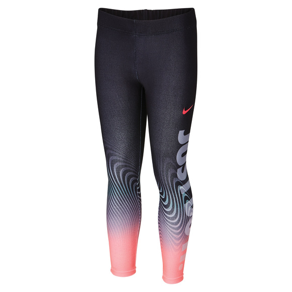 Sport Essentials Verbiage - Girls' Leggings