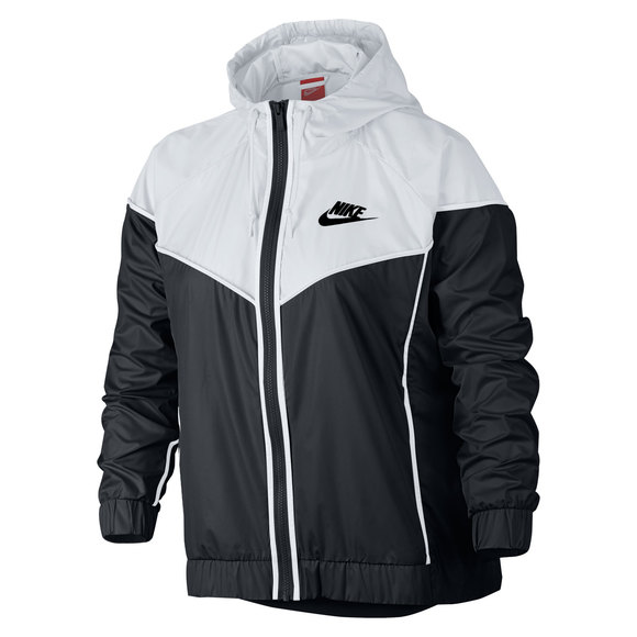 4d66d1a60a9 NIKE Sportswear Windrunner (Plus Size) - Women s Hooded Jacket ...