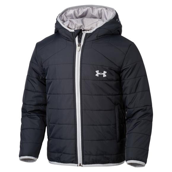 Feature Puffer - Kids' Hooded Jacket (Boys')