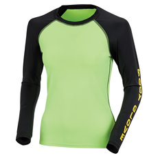 80's Throwback Push it - Women's Long-Sleeved Rashguard