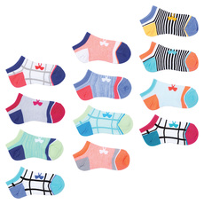 Essential Mix Masters - Girls' Ankle Socks (pack of 12 pairs)