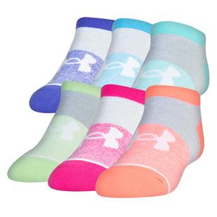 Essential - Socquettes pour femme (paquet de 6 paires)