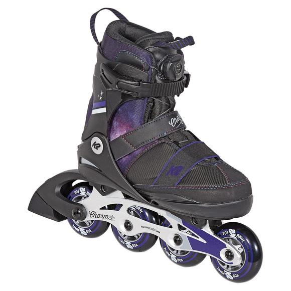Charm BOA ALU Jr - Girls' Adjustable Inline Skates