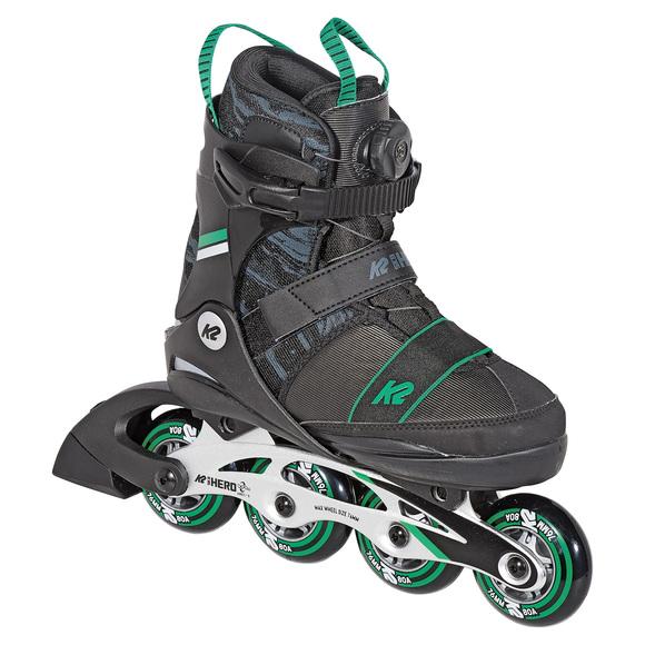 SK8 Hero BOA ALU Jr - Patins à roues alignées ajustables pour garçon