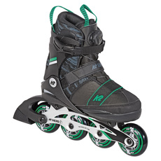 SK8 Hero BOA ALU Jr - Boys' Adjustable Inline Skates