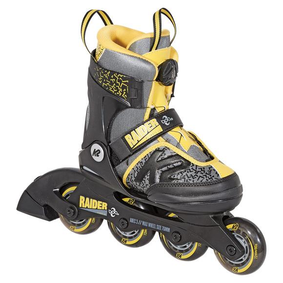 Raider BOA Jr - Patins à roues alignées ajustables pour garçon