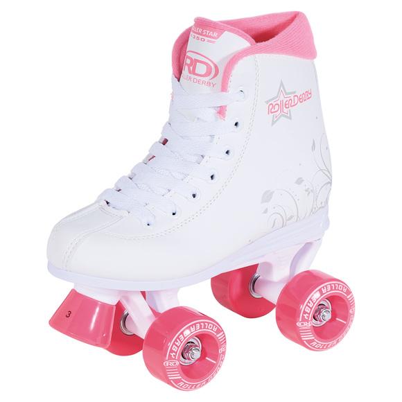 Roller Star 350 - Patins quads pour fille
