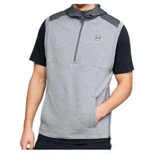 Microthread Terry - Men's Sleeveless Hooded Shirt